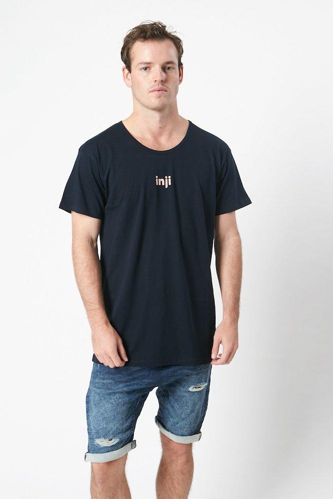 Inji Rose Tee (Mens) Tops & Tees - Tiny People Cool Kids Clothes