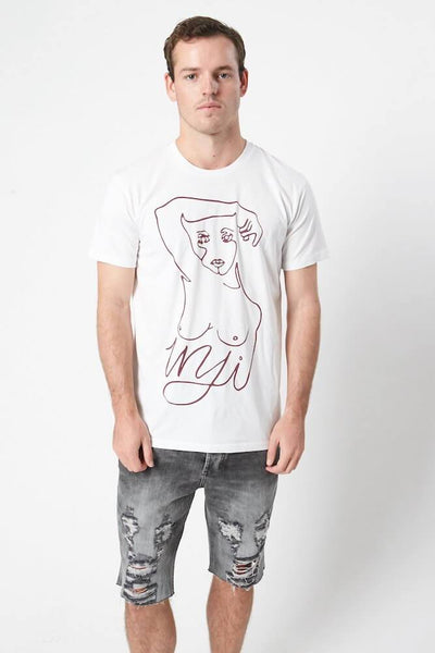 Inji Candice Tee (Mens) Tops & Tees - Tiny People Cool Kids Clothes
