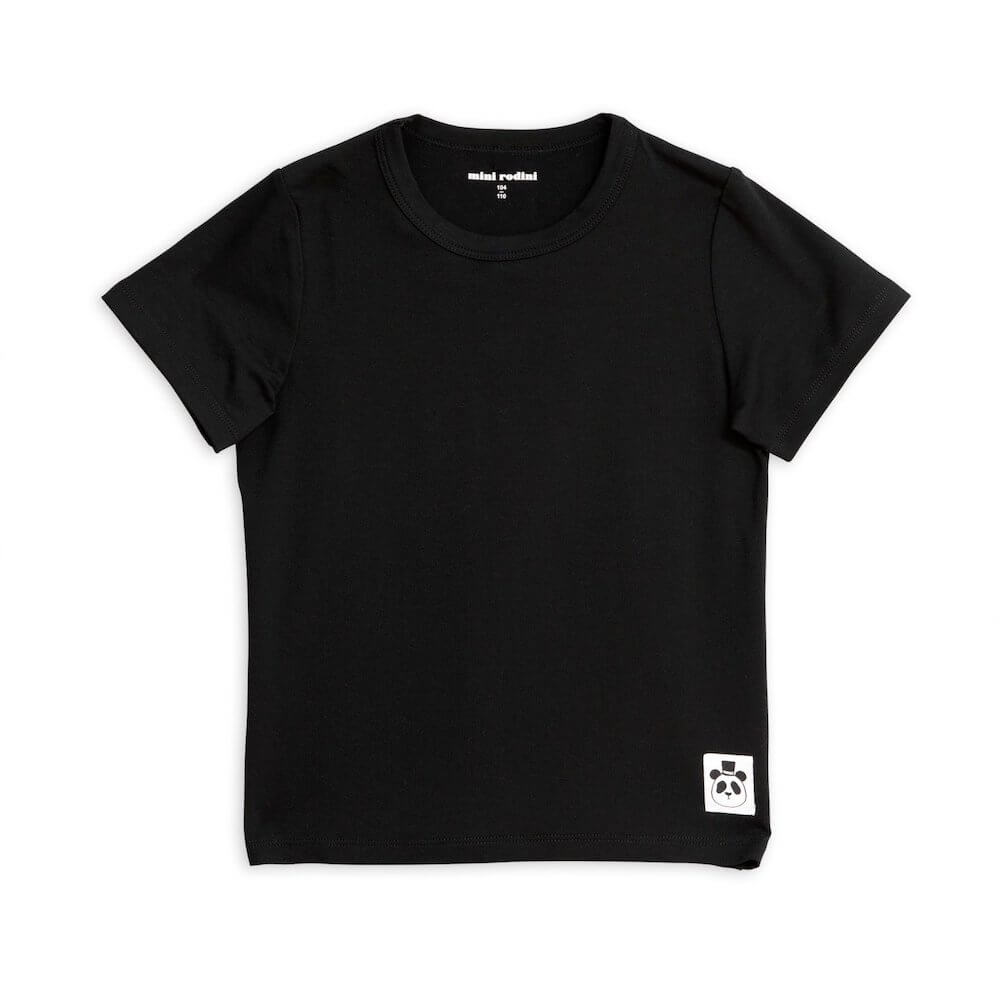 Basic SS Tee (Black) | Tiny People