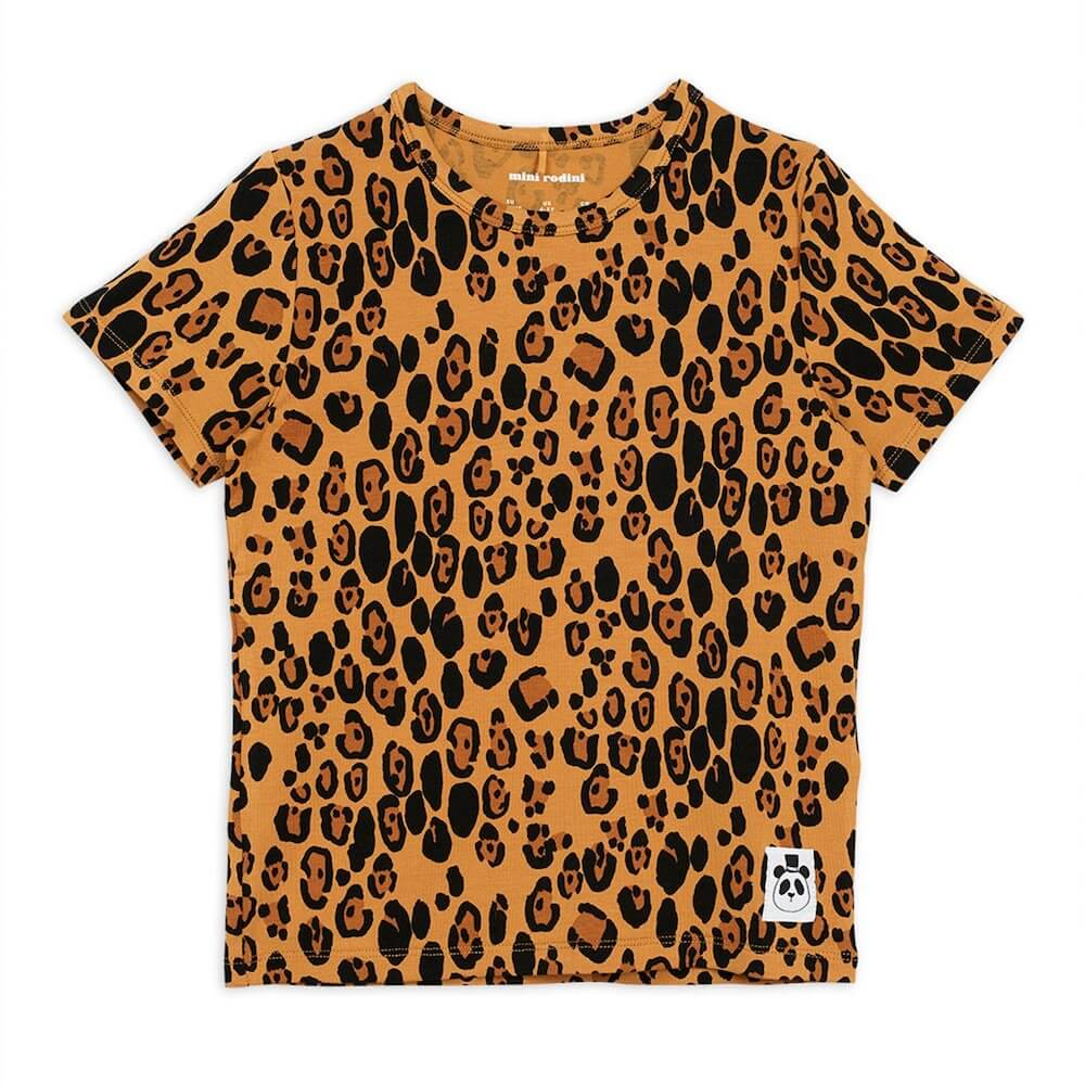 Basic SS Tee (Leopard) | Tiny People