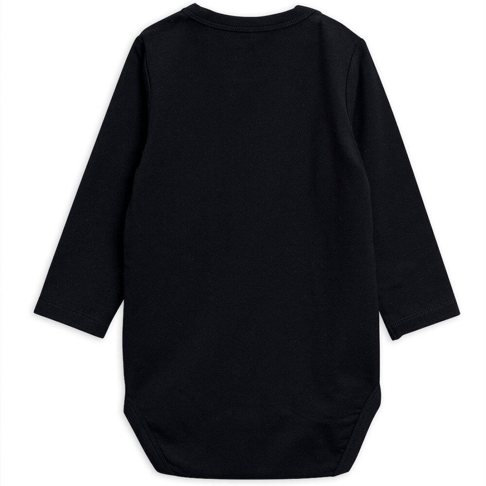 Basic L/S Bodysuit (Black) | Tiny People