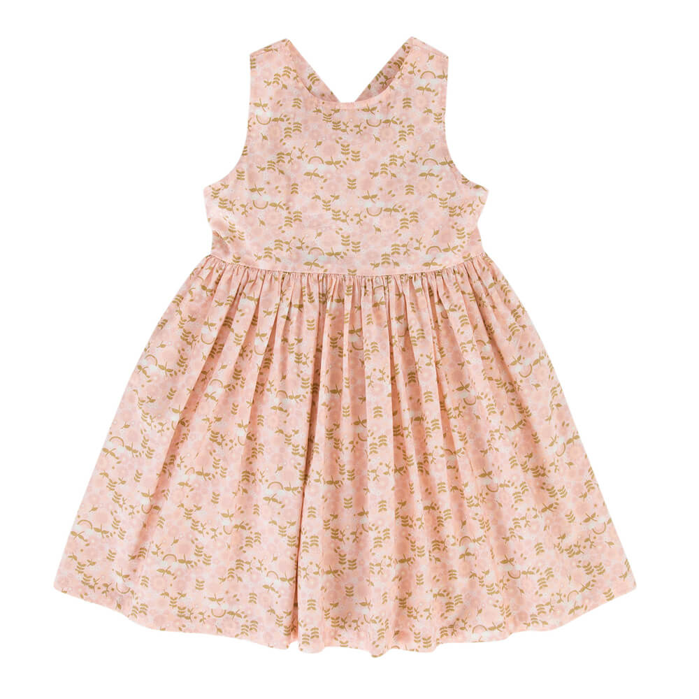 Peggy Paris Dress Rainbow Floral | Tiny People