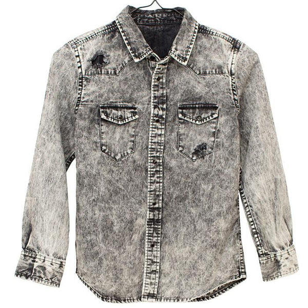 I Dig Denim Zoe Denim Shirt - Tiny People shop
