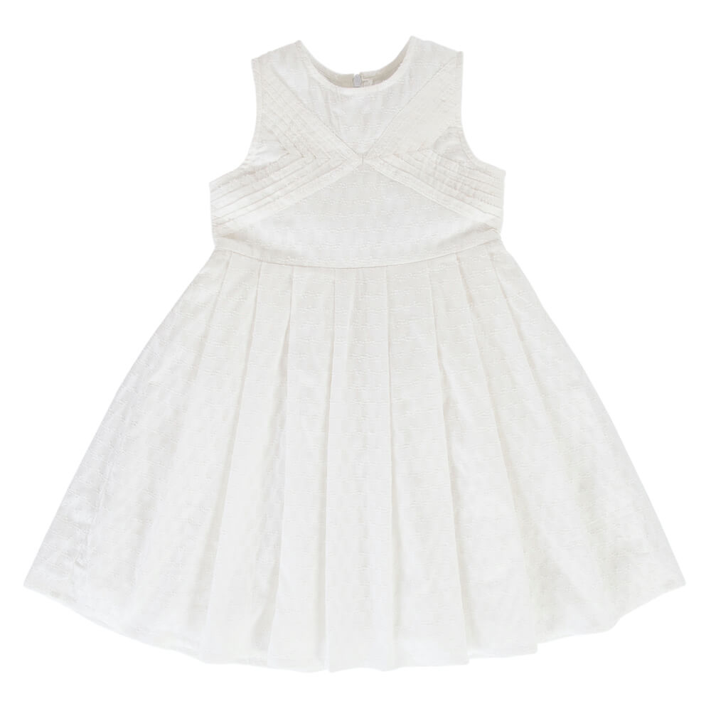 Peggy Pietta Dress White Broidere | Tiny People