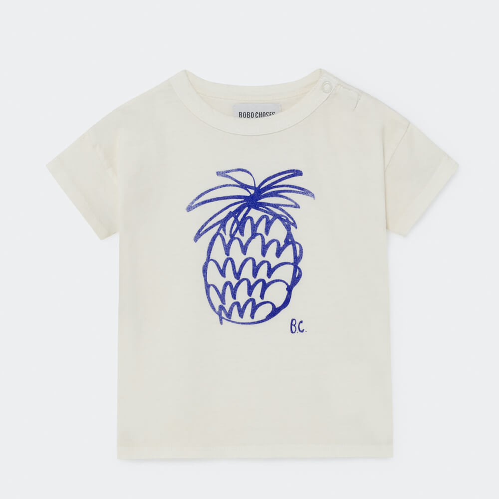 Bobo Choses Pineapple Short Sleeve T-Shirt | Tiny People