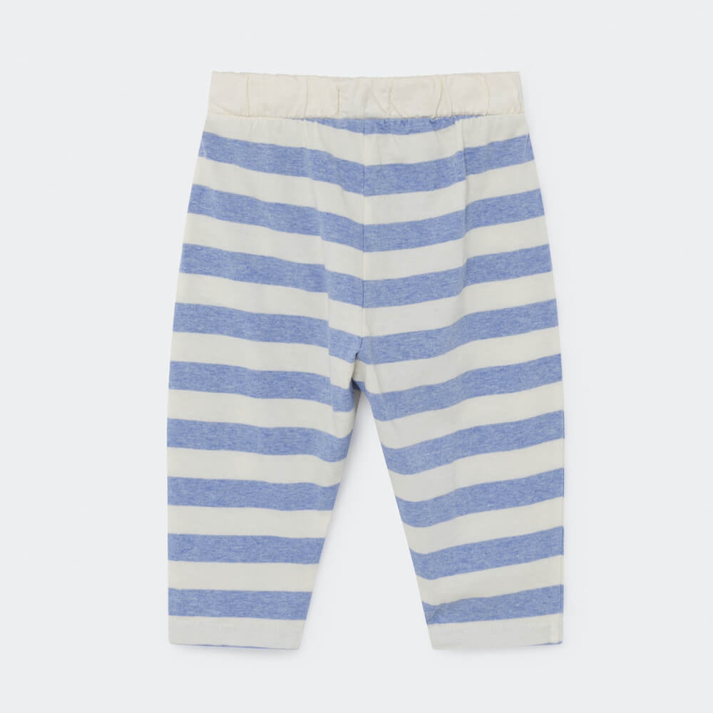 Bobo Choses B.C. Stripped Baby Jersey Trousers | Tiny People