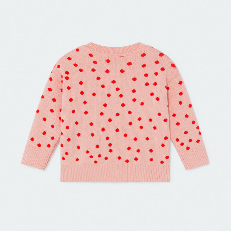 Bobo Choses Dots Knitted Jumper | Tiny People
