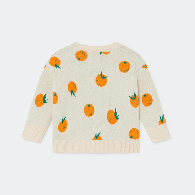 Bobo Choses Oranges Knitted Jumper | Tiny People