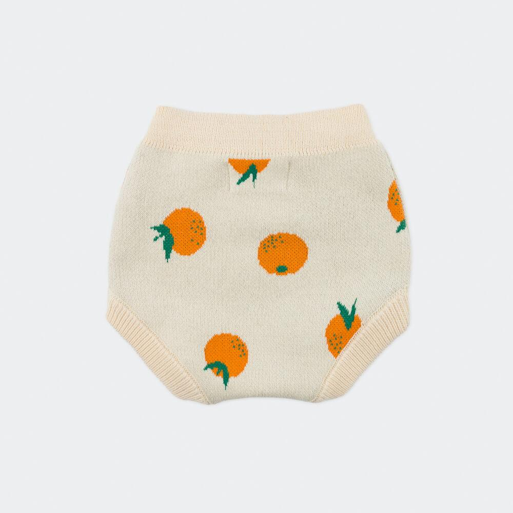 Bobo Choses Oranges Knitted Baby Culotte | Tiny People