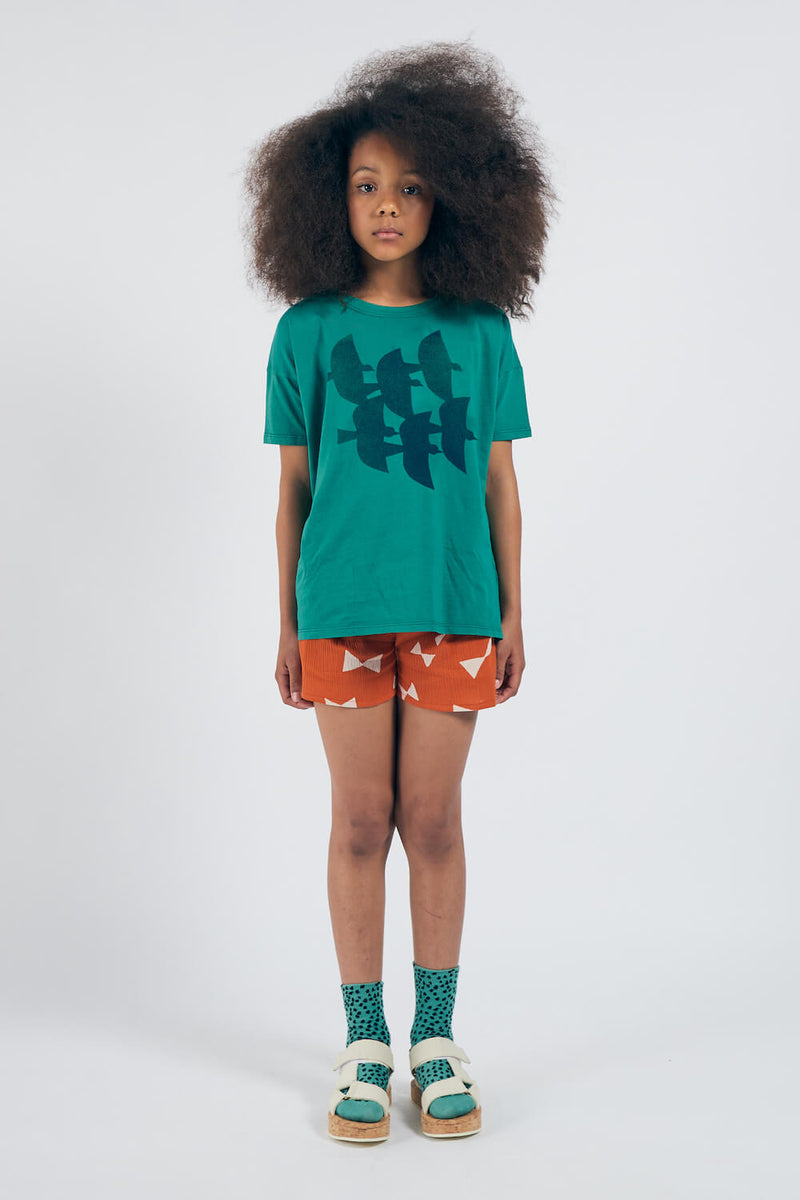 Bobo Choses Flying Birds T-Shirt | Tiny People