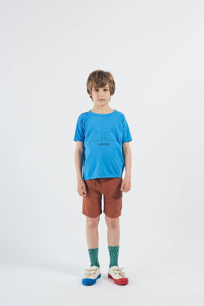 Bobo Choses Animal Print Bermuda Shorts | Tiny People