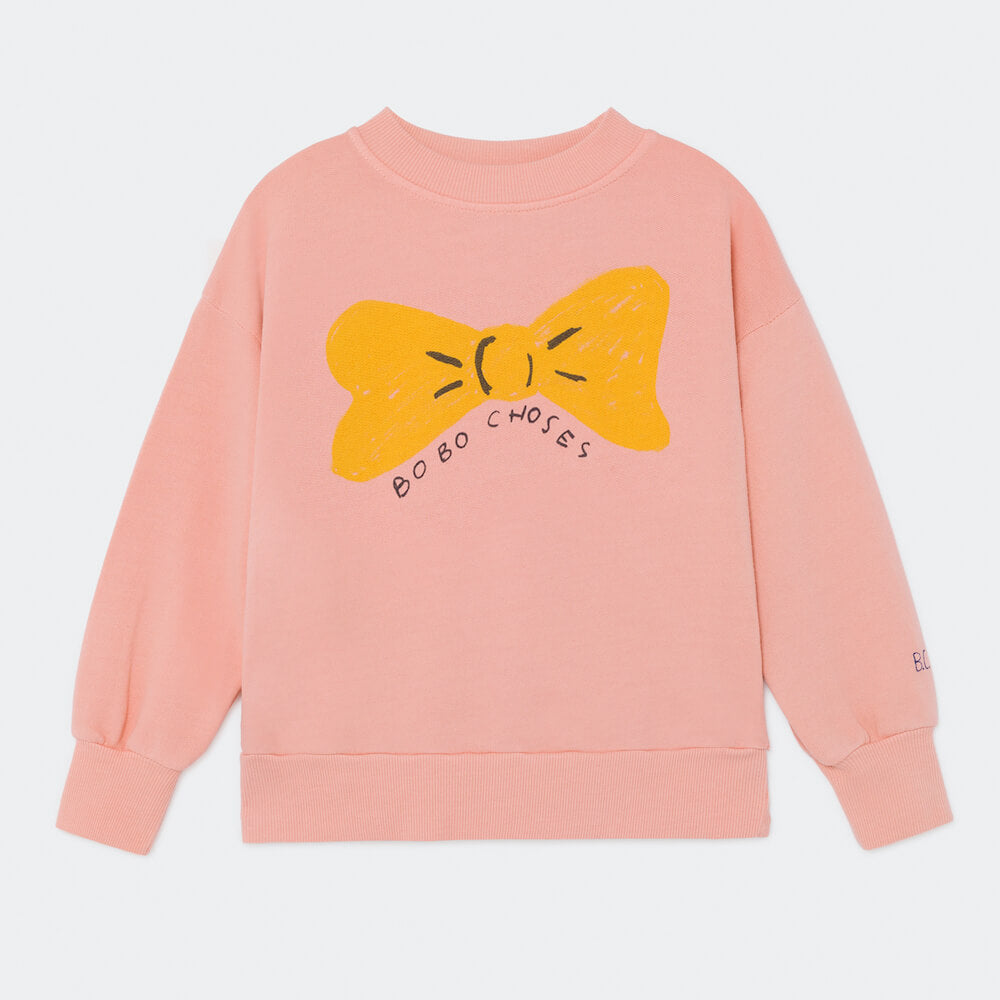 Bobo Choses Bow Sweatshirt | Tiny People