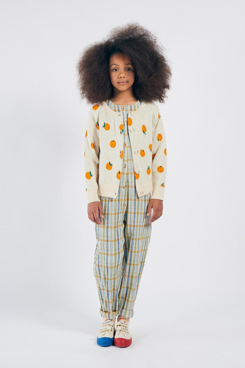 Bobo Choses Oranges Knitted Cardigan | Tiny People