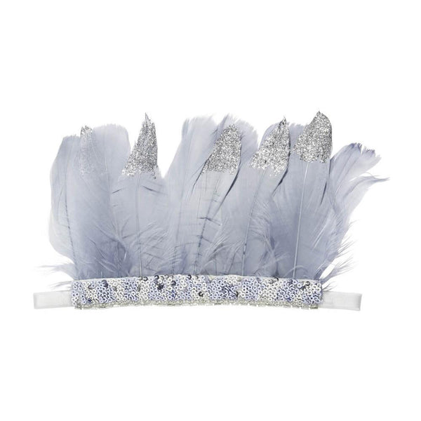 Tutu Du Monde Other Wordly Feather Headband - Tiny People Cool Kids Clothes