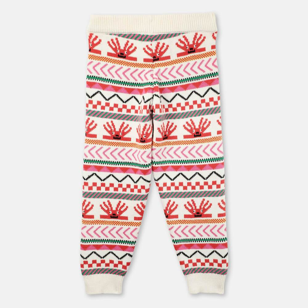 Hedgehogs Knit Pants