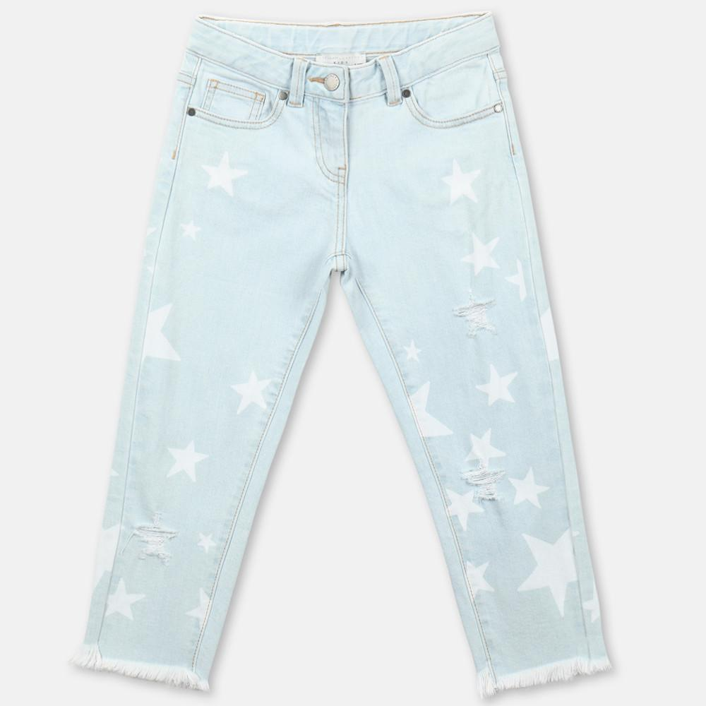 Distressed Stars Denim Pants