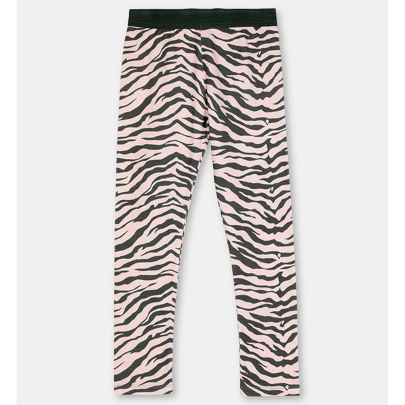 Stella McCartney Zebra Cotton Leggings Pants - Tiny People Cool Kids Clothes