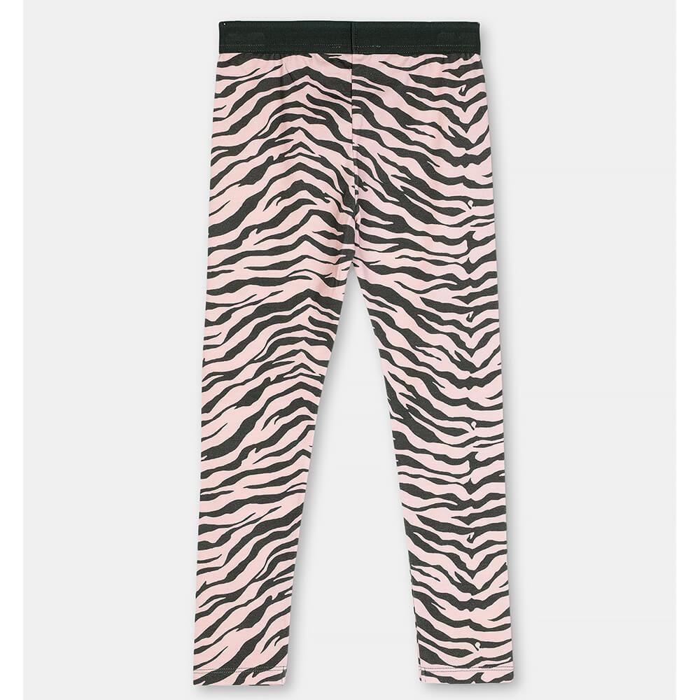 Zebra Cotton Leggings