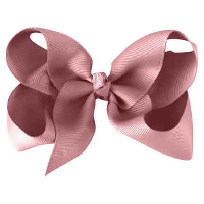 Milledeux Large Boutique Bow Clip - Light Pink - Tiny People Cool Kids Clothes Byron Bay