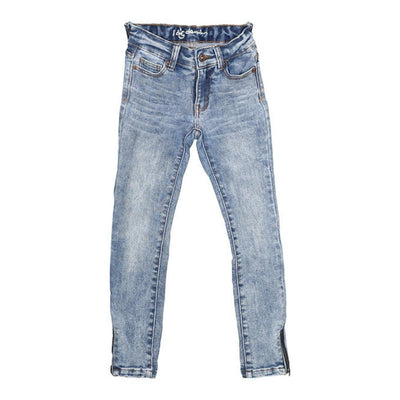 Madison Jean Zip Blue