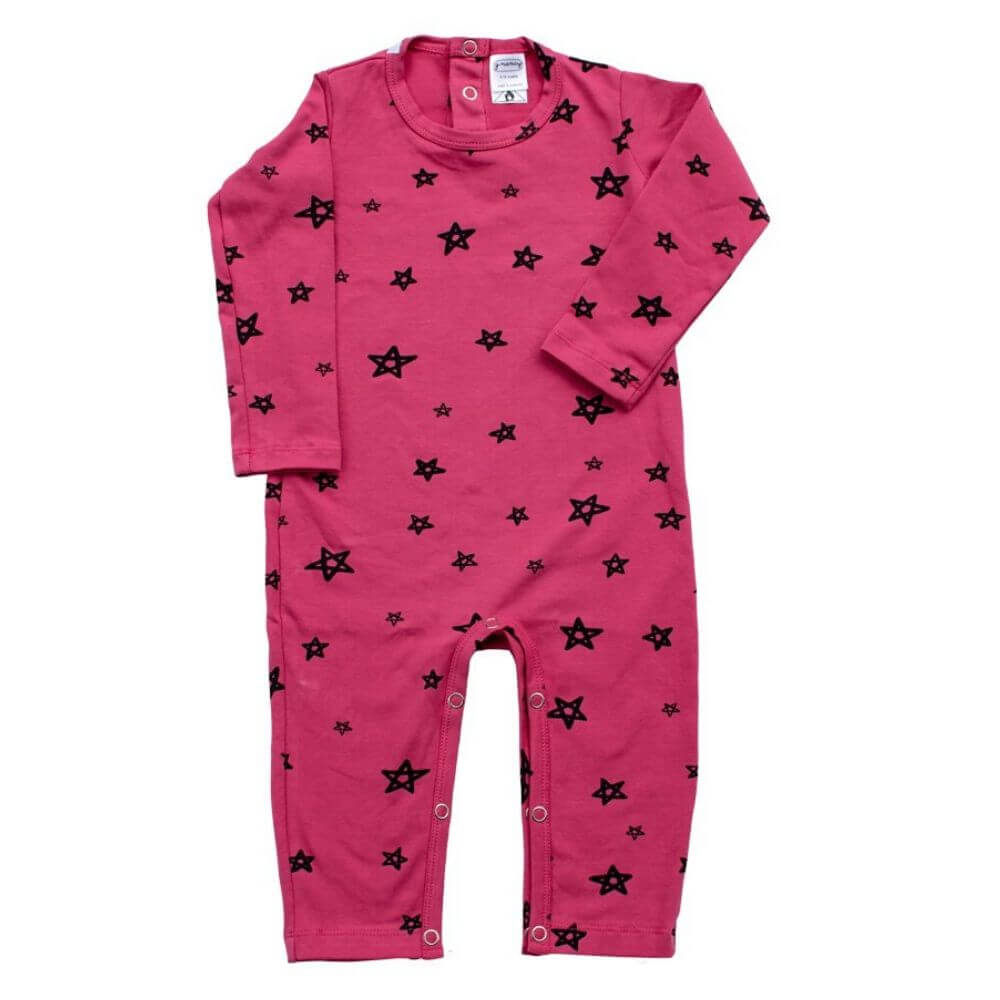 G. Nancy Bougainvillea Star LS Romper| Tiny People