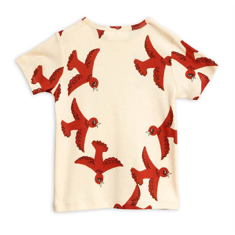 Flying Birds SS Tee Off-White