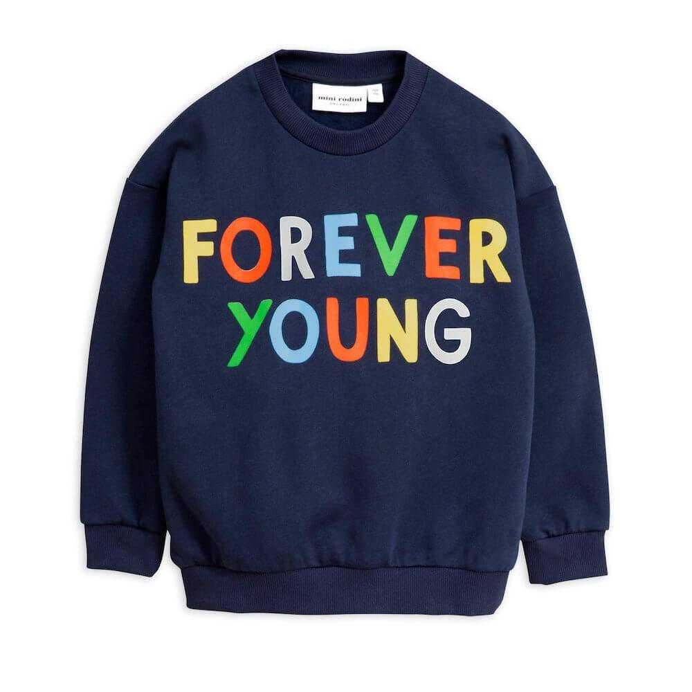 Forever Young Sweatshirt Navy