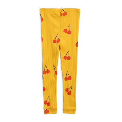 Cherry Leggings Yellow