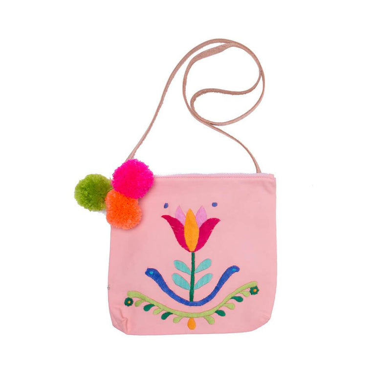 Jalan Jalan Bag Bellini with Tulip Embroidery
