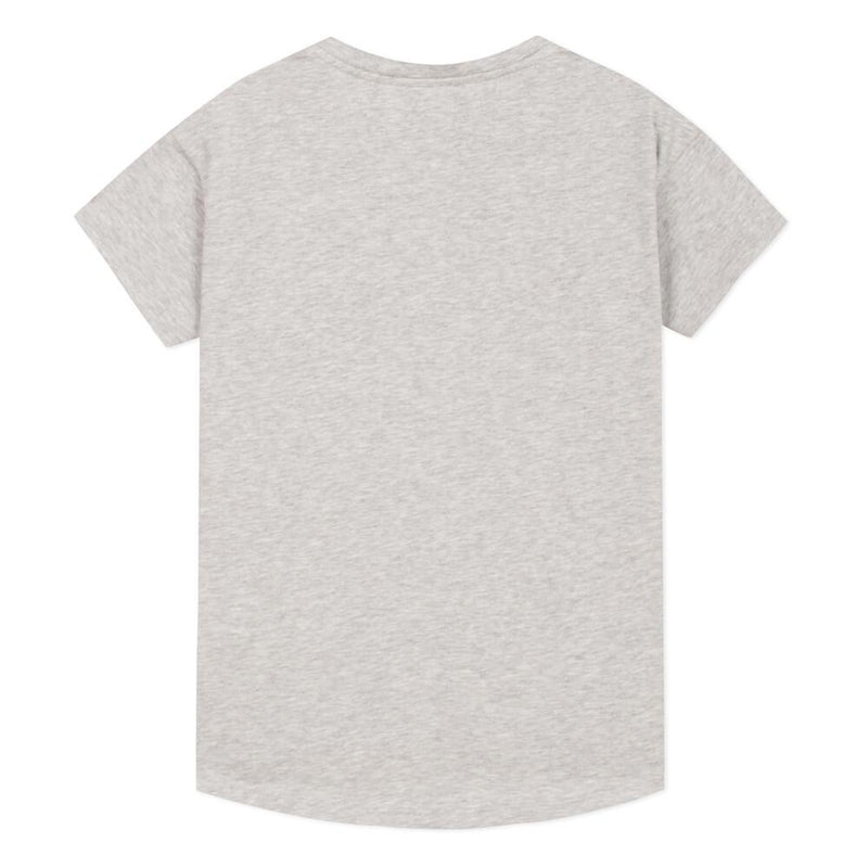 Kenzo Kenzo Logo SS Tee Grey Tops & Tees - Tiny People Cool Kids Clothes