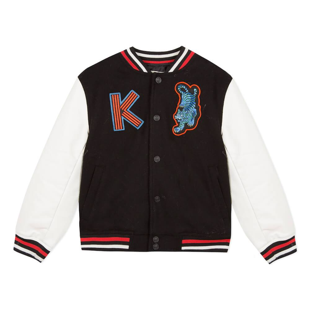 Japanese Dragon Varsity Jacket