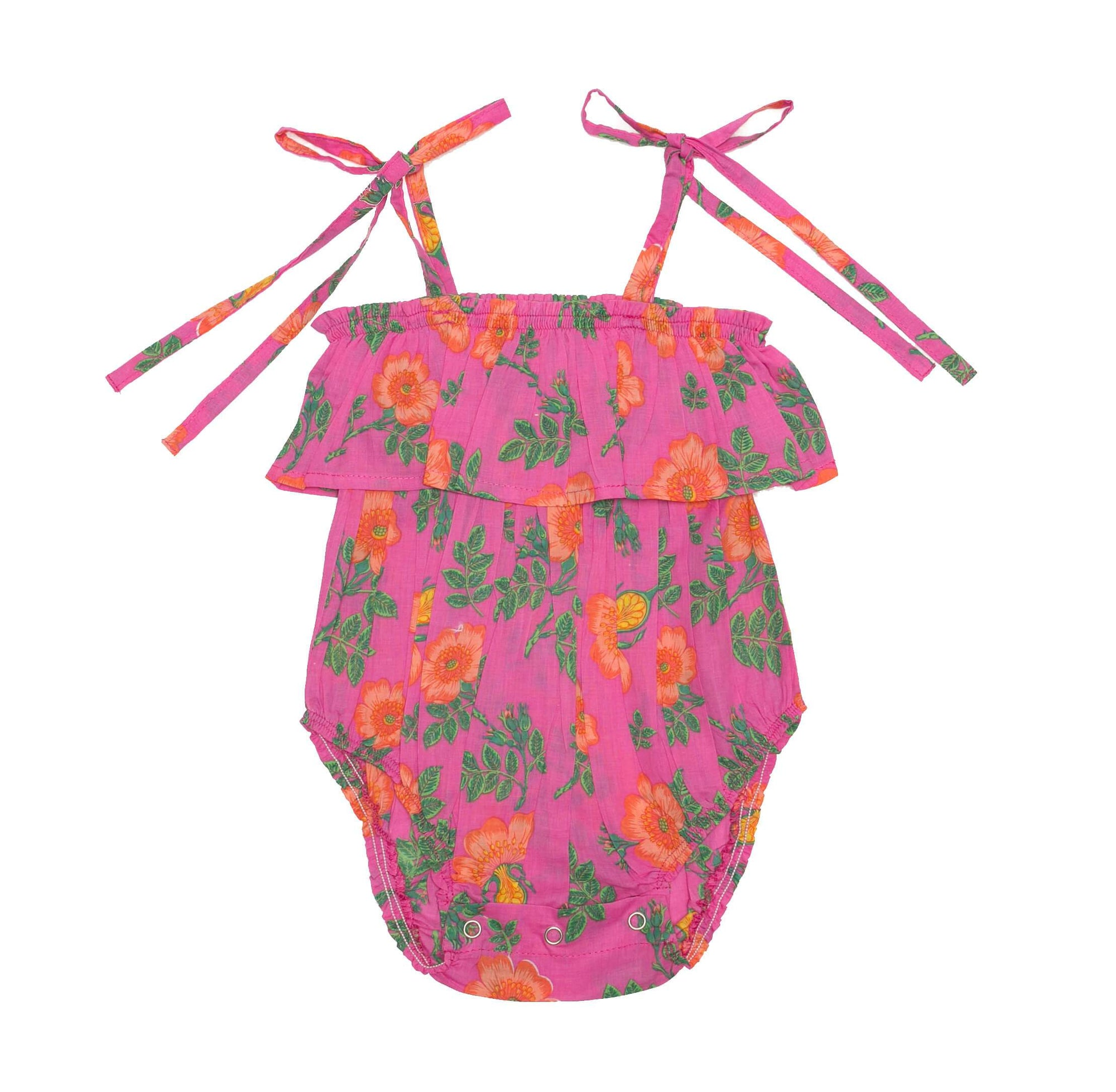 Innika Sunsuit Cerise Dogwood Rose