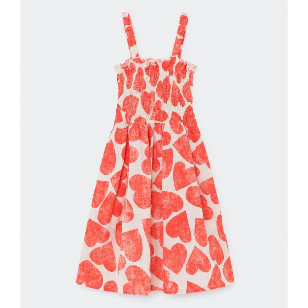 Bobo Choses All Over Hearts Smocked Dress | Tiny People