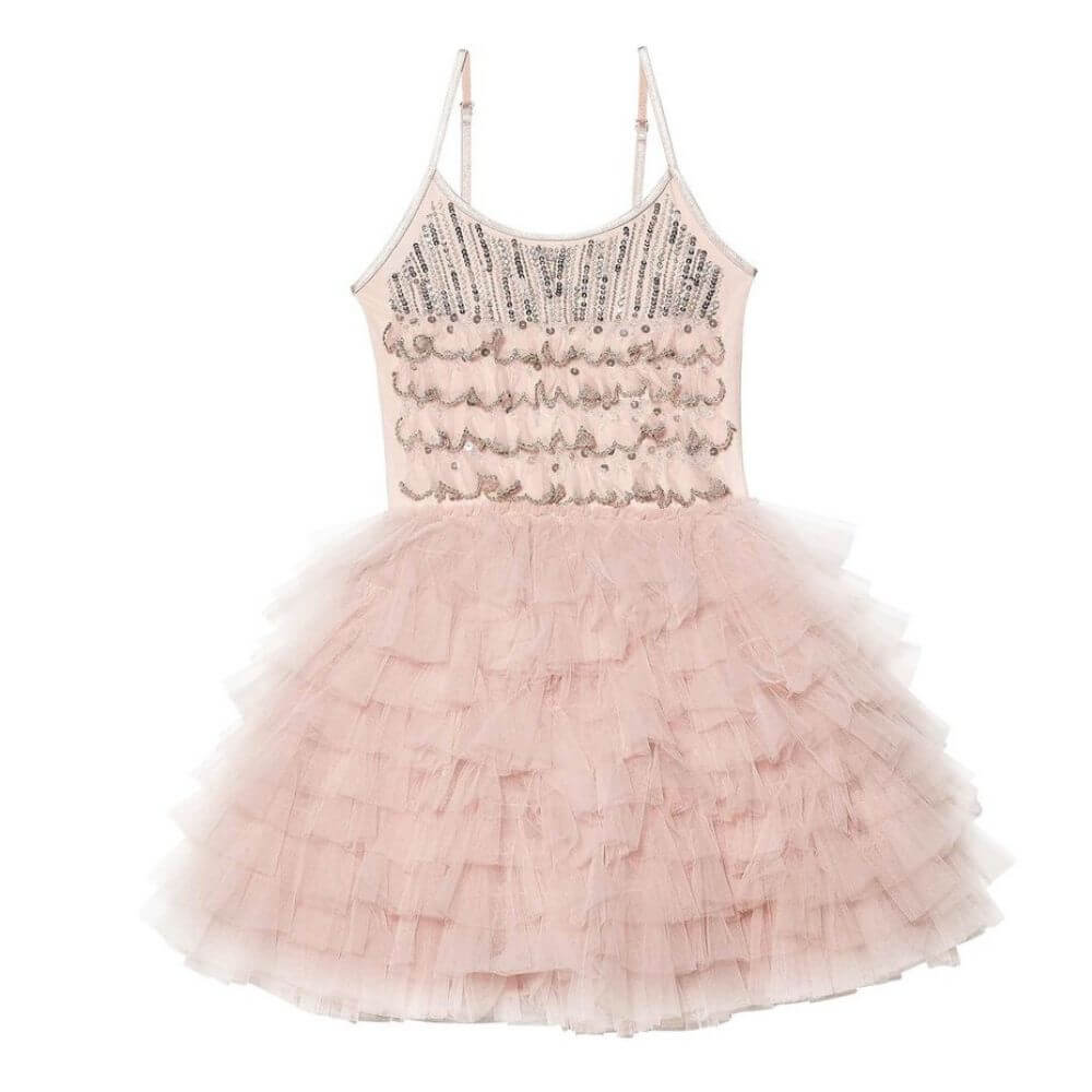 Tutu Du Monde Tinsel Tutu Dress Ballet Slipper | Tiny People