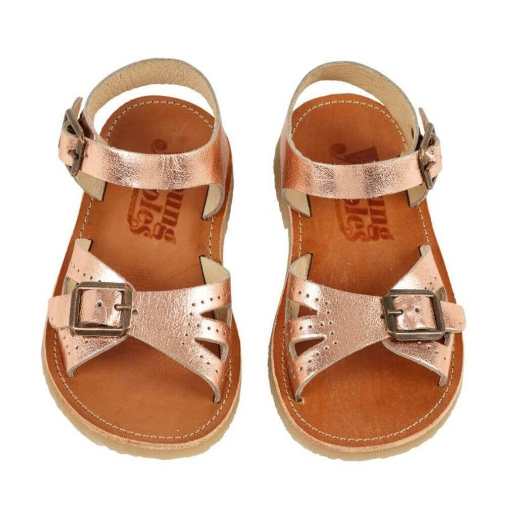 Pearl Sandal Rose Gold