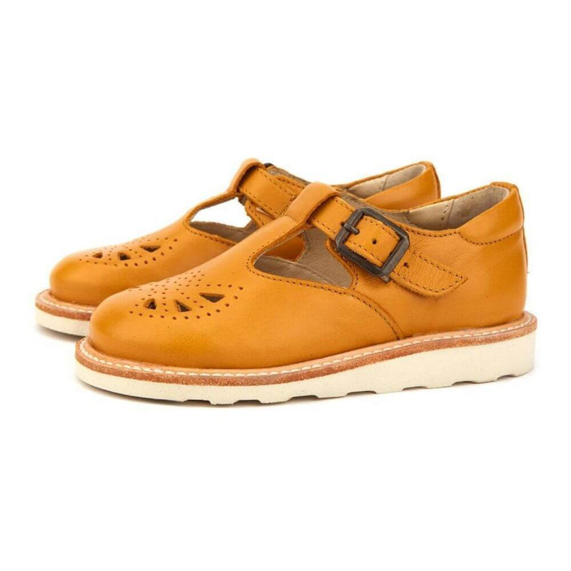 Rosie T-Bar Shoe Mustard