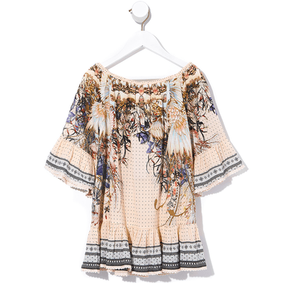 Kindred Skies Kids A-Line Frill Dress