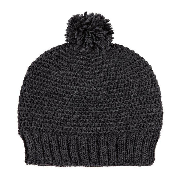 Acorn Kids Copenhagen Beanie Charcoal - Tiny People Cool Kids Clothes