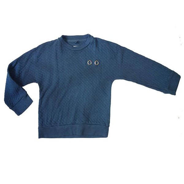Nico Nico Mars Pullover Space Blue - Tiny People Cool Kids Clothes