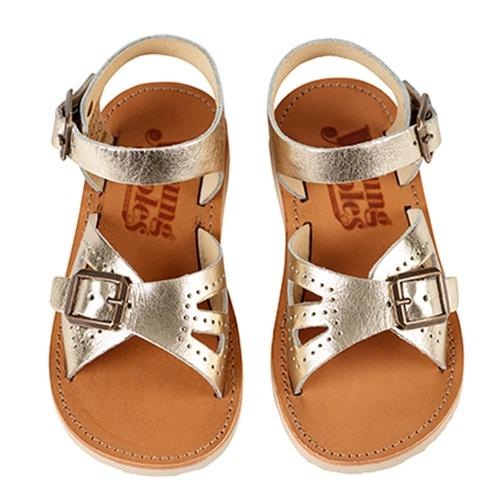 Young Soles Pearl Sandal Gold - Tiny People Byron Bay
