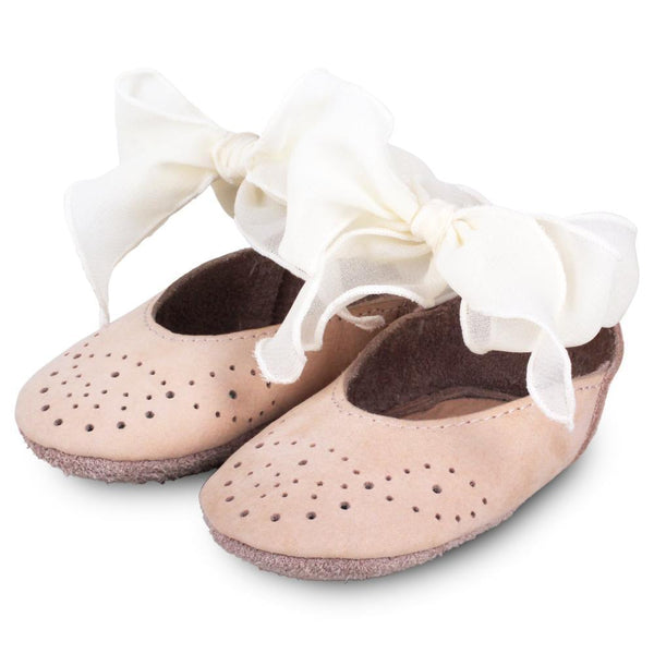 Donsje Angel Booties - Nubuck Powder - Tiny People Cool Kids Clothes Byron Bay