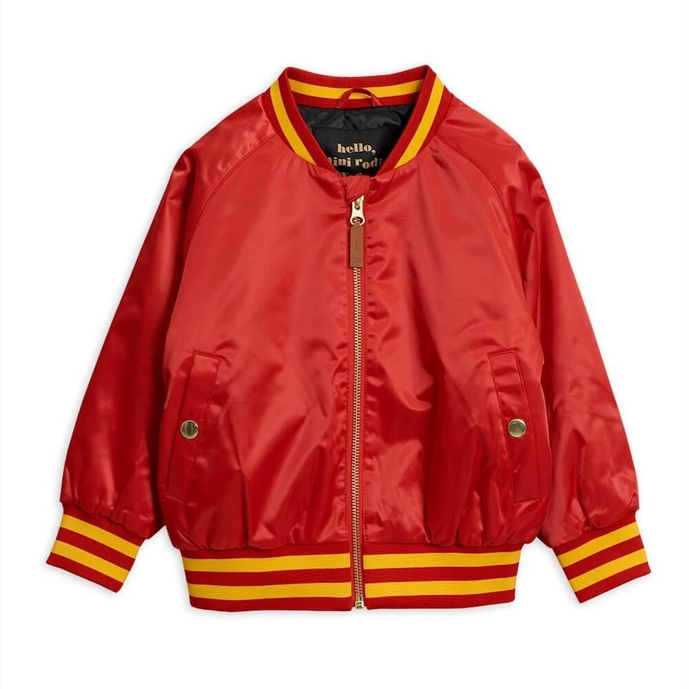 Mini Rodini Panther Baseball Jacket | Tiny People