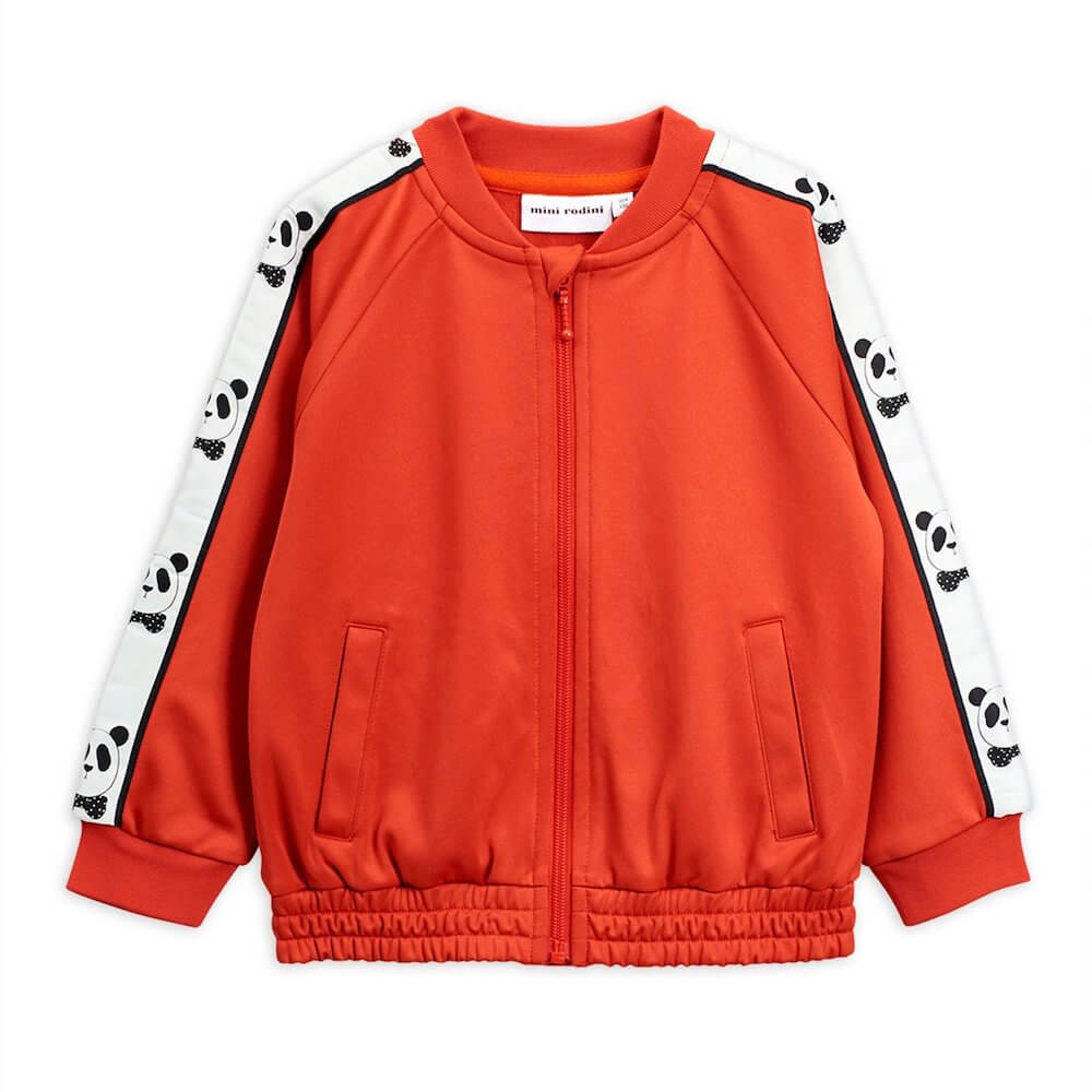 Mini Rodini Panda Red Sport Jacket | Tiny People
