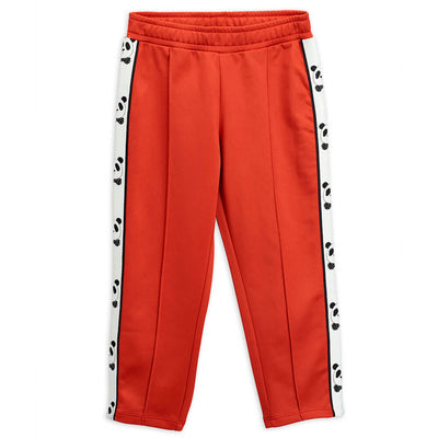 Mini Rodini Panda Red Sweatpants | Tiny People