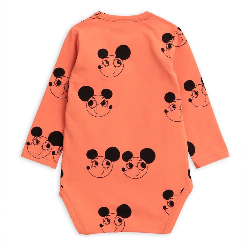 Mini Rodini Ritzratz LS Bodysuit | Tiny People
