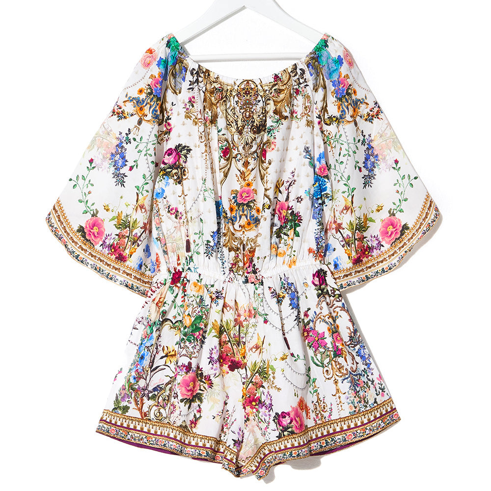 Camilla By The Meadow 3/4 Flare Sleeve Playsuit | Tiny People