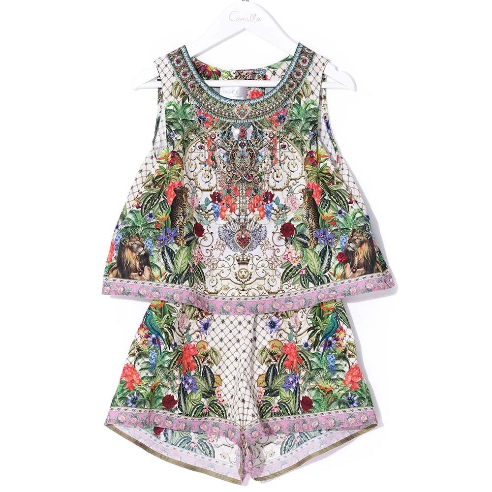 Fair Verona Double Layer Playsuit
