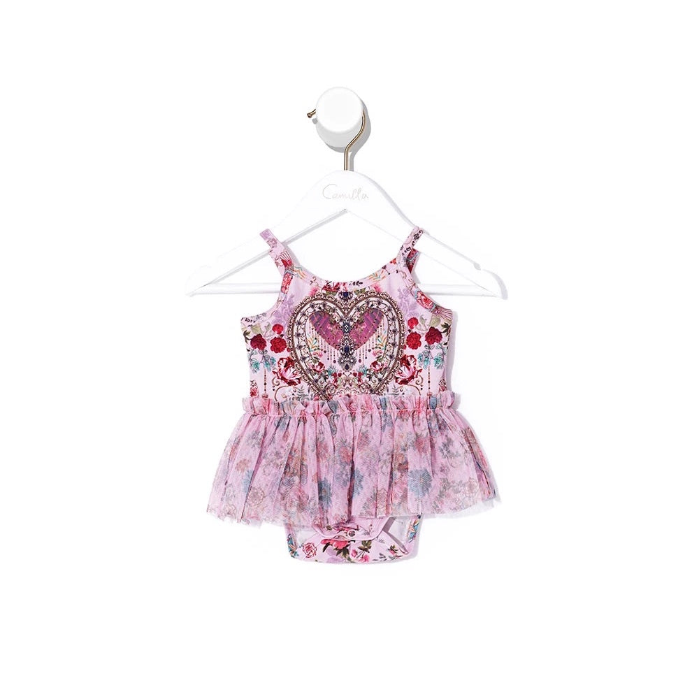 Believe in Love Baby Tutu Onesie