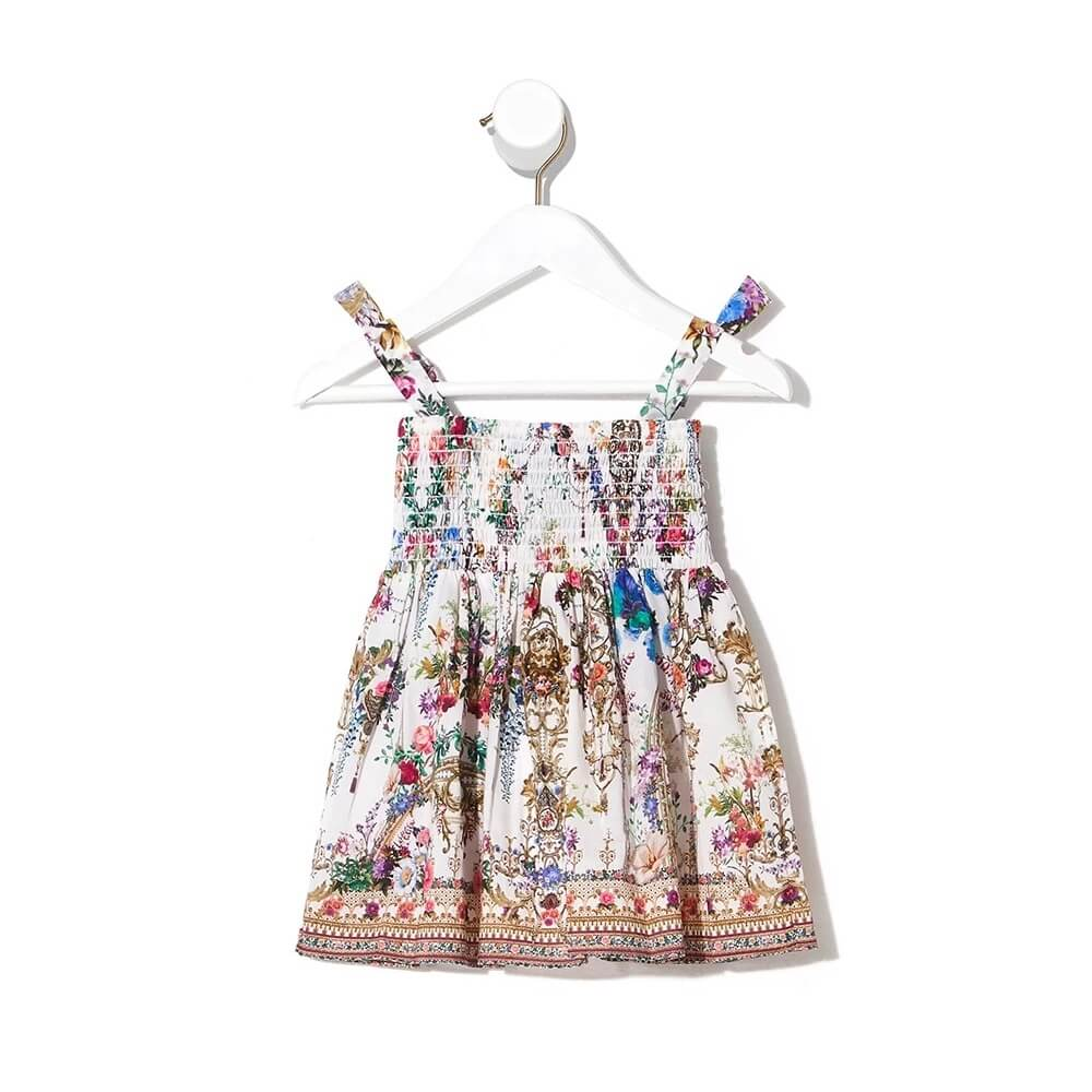 Camilla By The Meadow Baby Dress w/ Shirring | Tiny People