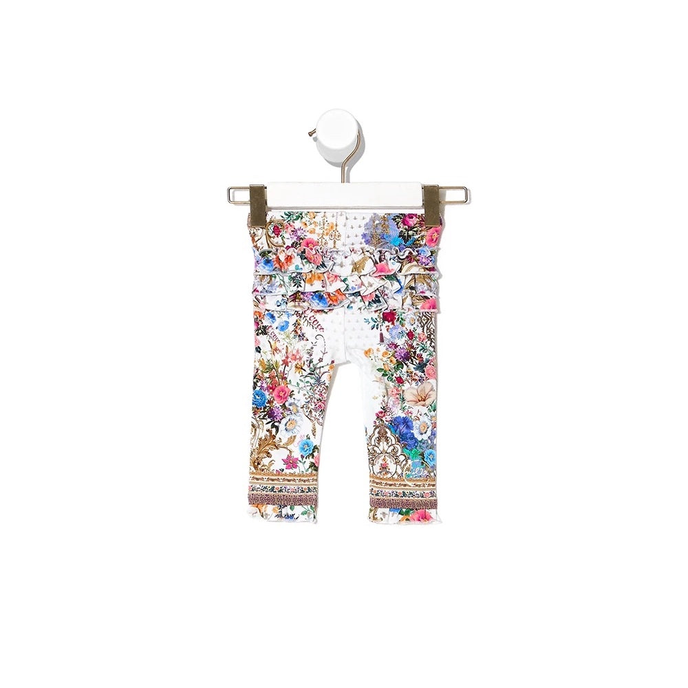 Camilla By The Meadow Baby Leggings with Frills | Tiny People